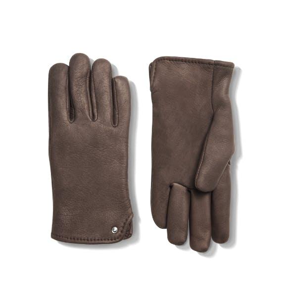 shinola and geier deerskin lined gloves