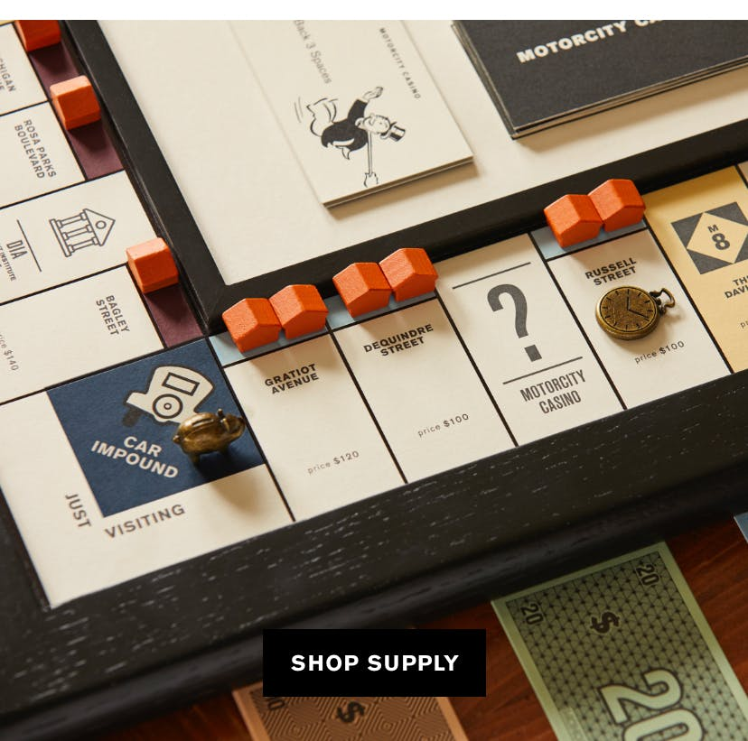 Shinola Monopoly game-set