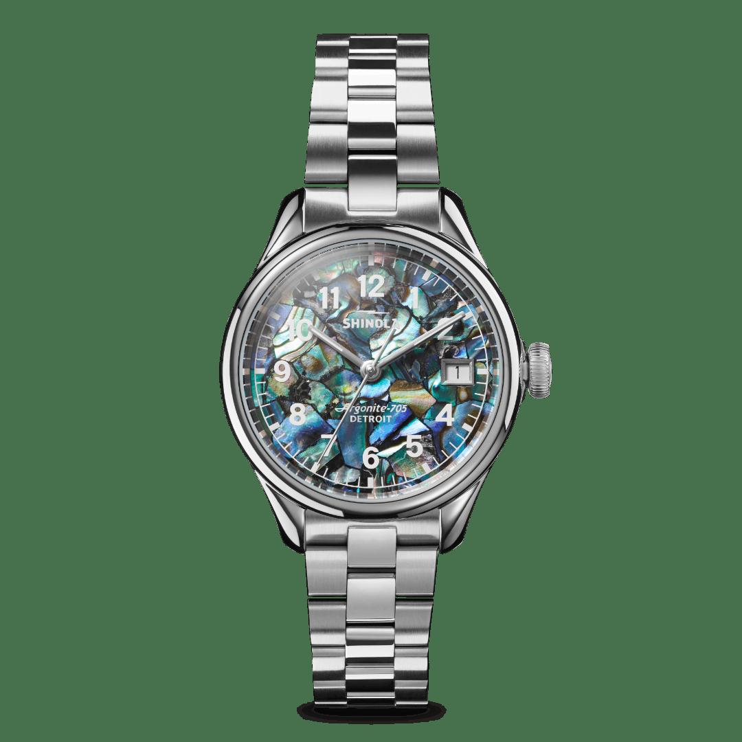 Shinola Women's Abalone Watch