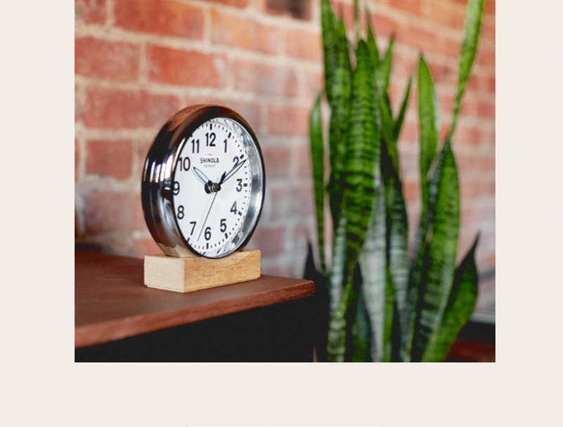 Shinola Desk-Clock