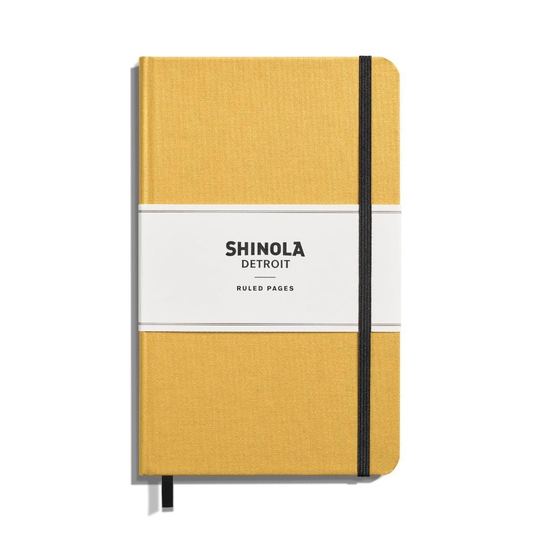 Shinola Medium Hard Linen Journal