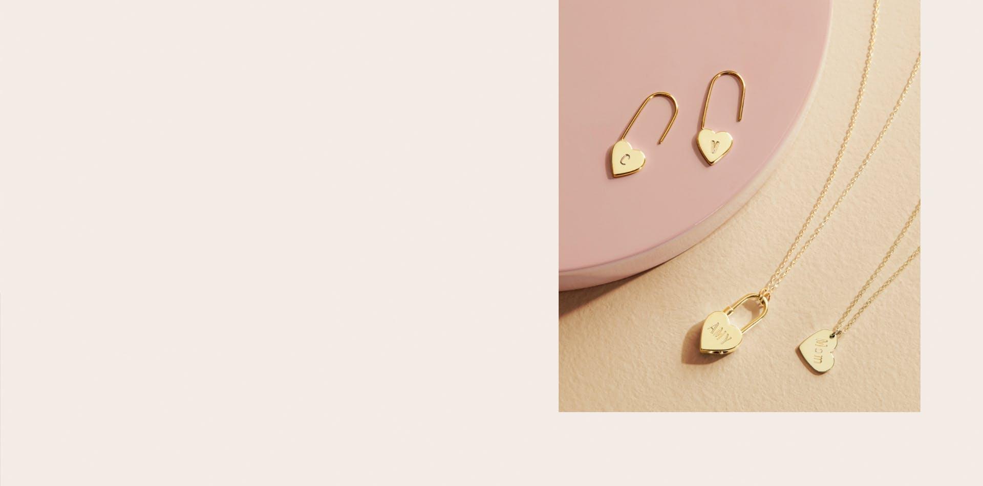 Shinola Women's Jewlery: Heart necklace and charm