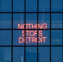 Nothing Stops Detroit / Socially Distant But Always Together