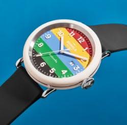 Close-up of the Shinola Champ watch