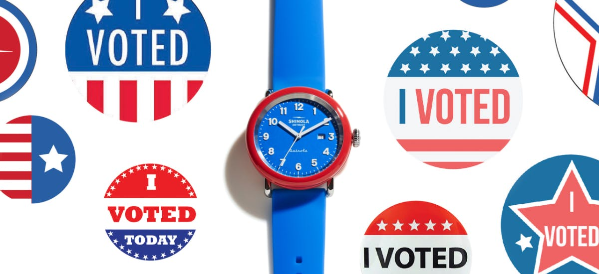 Detrola I Voted Watch