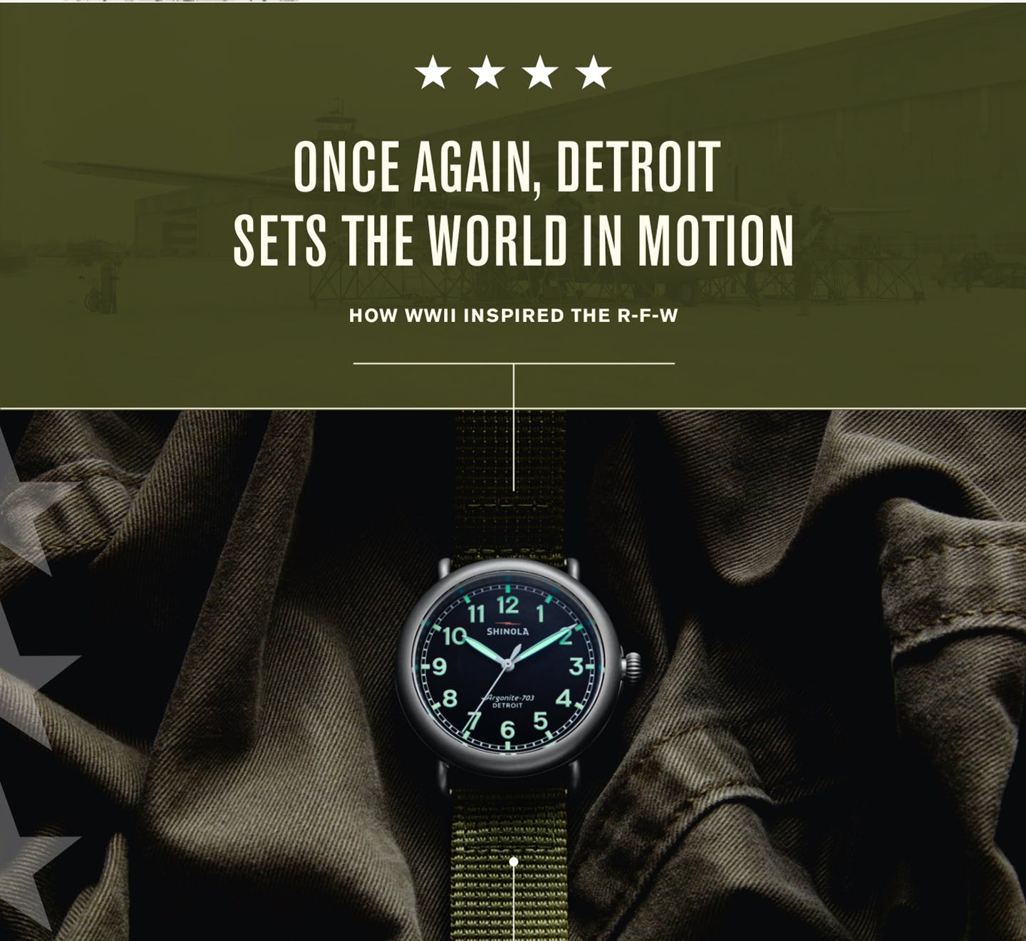 Once Again, Detroit Sets The World In Motion. How WW2 Inspired The R-F-W