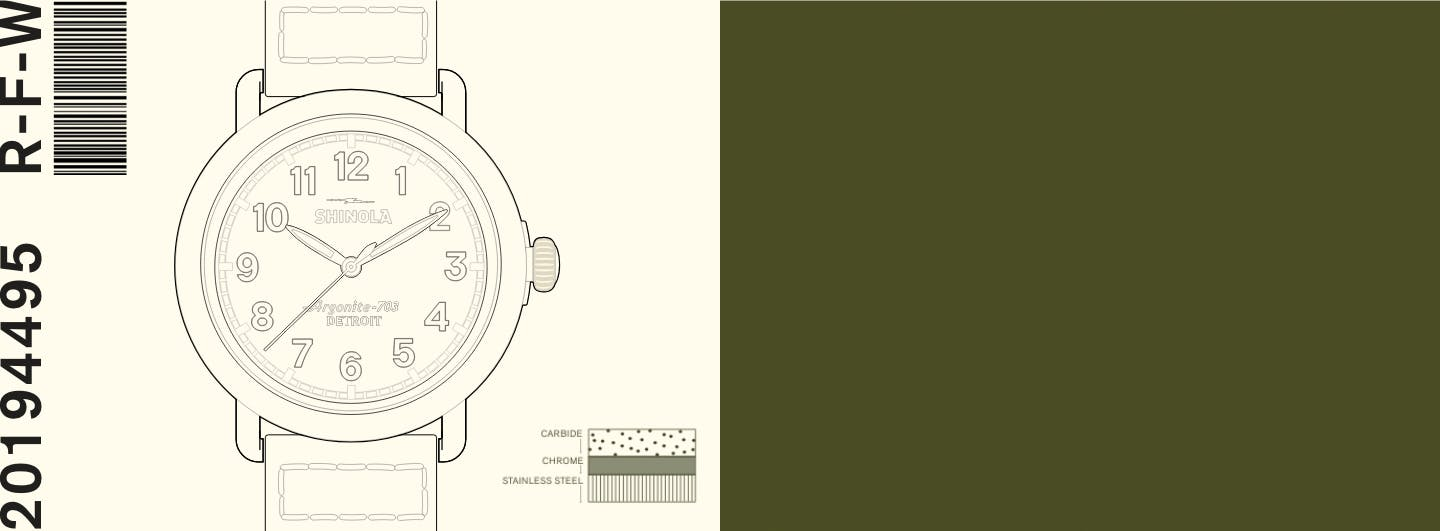 Drawing/sketch of the Runwell Field Watch