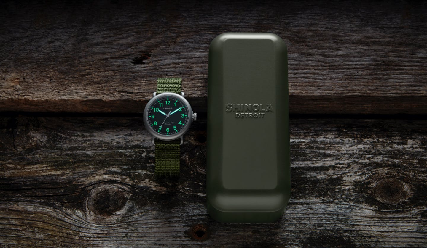 Runwell Field Watch and Case