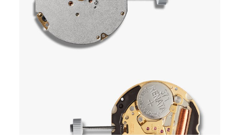 Picture of the watch movement