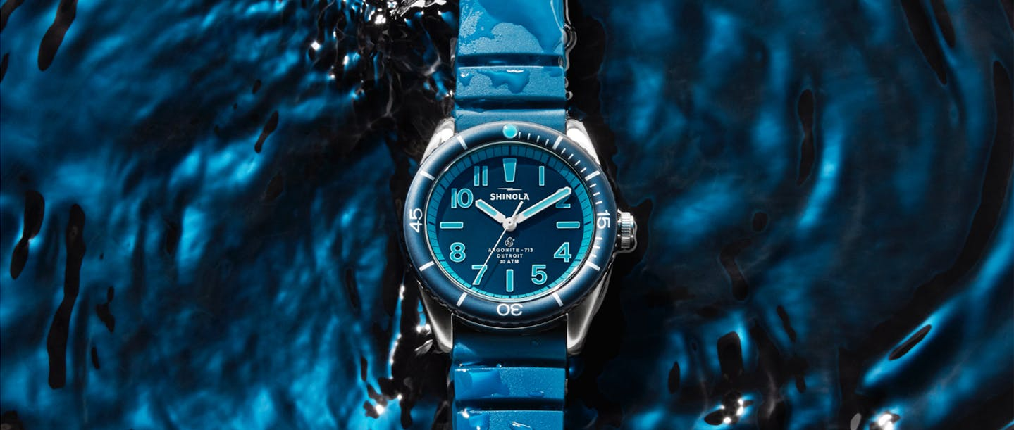 The Shinola Duck Series: Blue Bay Watch