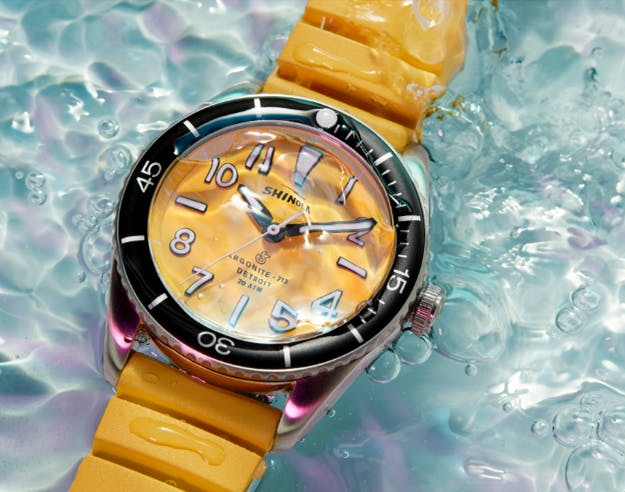 The Shinola Duck Series: Canary Yellow Watch