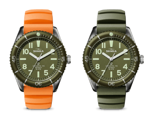 The Duck! watches side-by-side